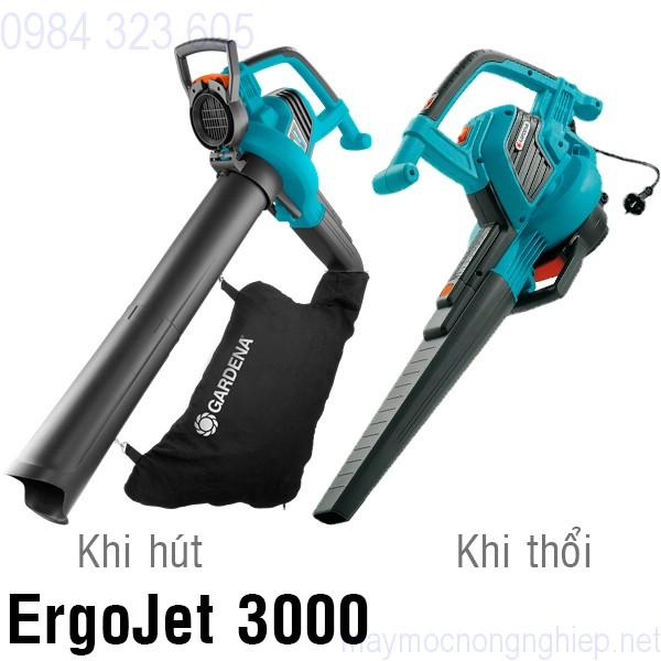 may-vua-hut-vua-thoi-la-cay-dung-dien-gardena-ergojet-3000