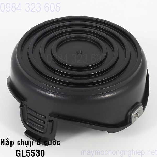 nap-chup-o-cuoc-nhua-mau-den-cua-may-cat-co-black-decker-gl5530